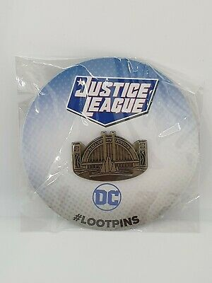 Justice League DC Lootpins - Hall Of Justice • 4.90£