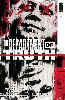 DEPARTMENT OF TRUTH 1A NEW IMAGE COMICS 1 Tynion Martin Simmonds First 1st Print • 12.99£