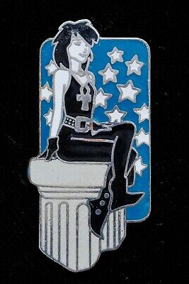 DC Comics/Vertigo Death Enamelled Metal Pin Badge 1996 - Neil Gaiman Sandman • 15£