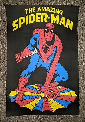 Vintage 1970s Marvel / DC Comics SPIDERMAN Carnival Poster 23w By 35h • 26.26£