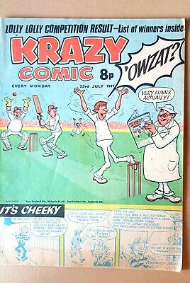 Krazy Comic 23rd July 1977. • 0.99£
