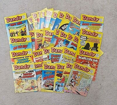 Vintage Dandy Comics X34 Collection Library  • 39£