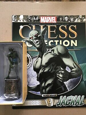 EAGLEMOSS  Marvel Chess Collection Issue 72 Jackal + Magazine • 18£