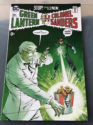 KFC: Across The Universe #3 - NM - Green Lantern Colonel Sanders SDCC Exclusive • 29.99£