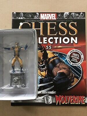 EAGLEMOSS  Marvel Chess Collection Issue 55 Wolverine + Magazine • 13£