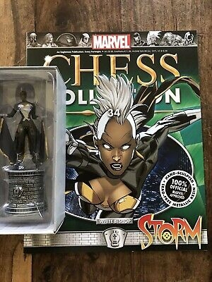 EAGLEMOSS  Marvel Chess Collection # 34 Storm - White Bishop + Magazine • 13£