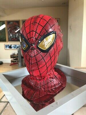 Spiderman Mask Signed By Stan Lee • 540£