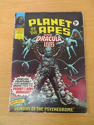 Marvel Planet Of The Apes/Dracula Lives Comic Bundle (x9) • 28£