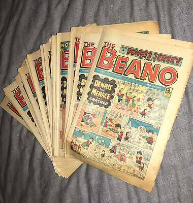 Beano Comics 1981 Complete Set • 2.50£