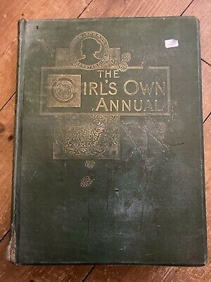 The Girl's Own Annual - Oct 1889 To Sept 1890 - Cloth Bound • 9.99£