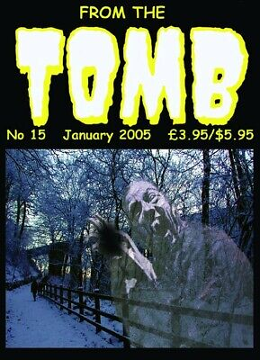 From The Tomb #15 UK Horror Comics Fanzine 52 Pages. New • 5£