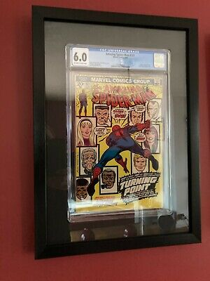 Graded Comic Book Display Frame For CGC And CBCS Slabs Wall Hanging Wood Frame • 29.99£