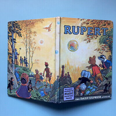 Buy Now - Rupert Bear Annual 🐻 Original 1968 - Unclipped 6/- Good • 14.95£
