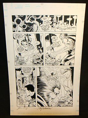 Star Wars: River Of Chaos #? P.10 - Blaster Fight - 1995 Art By June Brigman • 114.63£