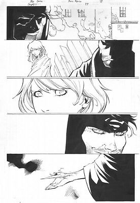 Supergirl #17 P.17 - Superman - Signed Art By Ale Garza • 110.78£