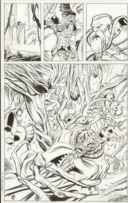 Dungeons & Dragons #? P.14 - Action Splash - Signed Art By Vicente Alcazar • 99.34£