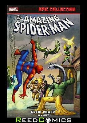 Amazing Spider-man Epic Collection Great Power Dm Graphic Novel (new Printing) • 39.99£