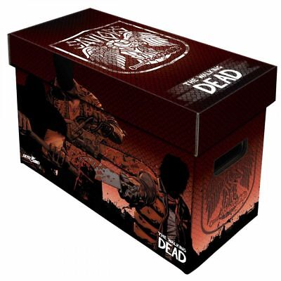 Comic Book Cardboard Storage Box The Walking Dead, Saviours Artwork • 18.99£