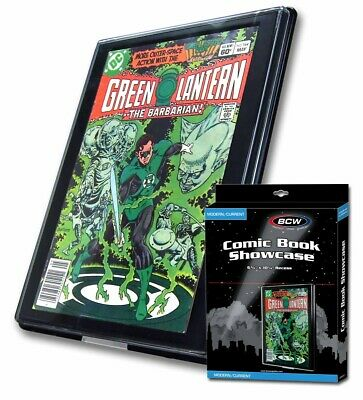 COMIC BOOK SHOWCASE - Modern & Current Age Era - Wall Mountable  • 13.99£