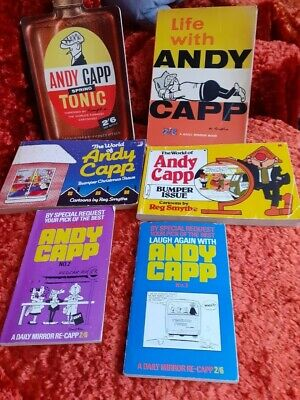 25 X Andy Capp Books : 1963 - 1981 : One Owner From New : Good Condition For Age • 125£