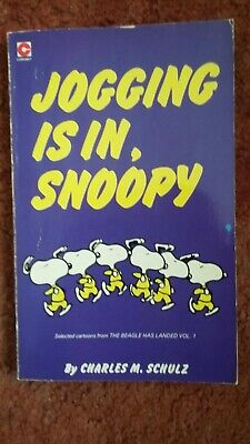 Jogging Is In, Snoopy By Charles M Schulz  • 1.70£