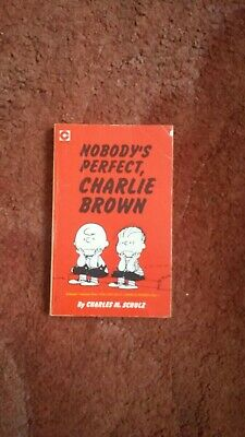 Nobody's Perfect Charlie Brown By Charles M Schulz  • 1.70£