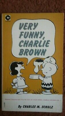 Very Funny Charlie Brown By Charles M Schulz • 1.70£