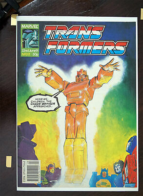 Transformers Marvel UK Comic 1991 Issue 317, High Grade • 28.99£