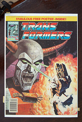 Transformers Marvel UK Comic 1991 Issue 320, High Grade • 32.99£