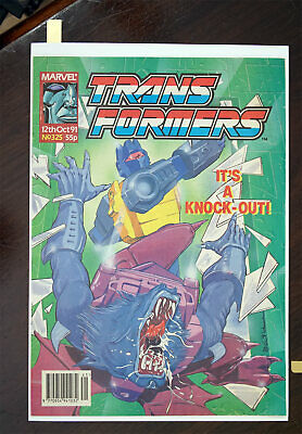 Transformers Marvel UK Comic 1991 Issue 325, High Grade • 32.99£
