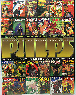 Adventure House Guide To The Pulps Checklist Of The Pulp Magazine Era NEW • 14.66£