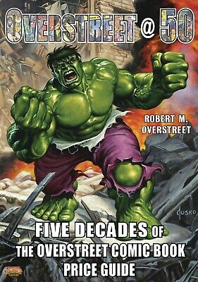2020 Five Decades Of Overstreet Comic Book Price Guide Tpb Trade Paperback Sale • 11.25£