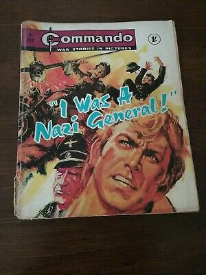 Commando War Comic No 424  I Was A Nazi General  Issued August 1969 • 3.99£