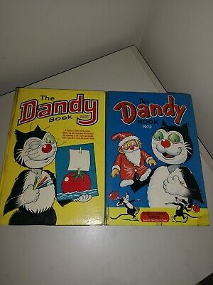 The Dandy Book Comics 1971 And 1972 • 10£