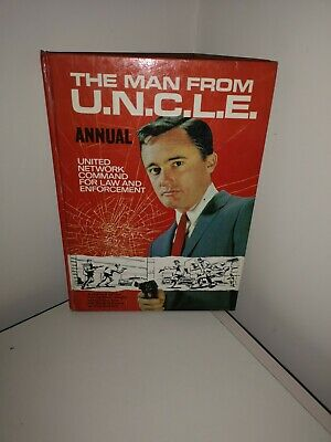 The Man From Uncle Comic Annual 1967 • 1.40£
