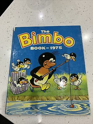 THE BIMBO BOOK 1975- Vintage - Annual • 1£