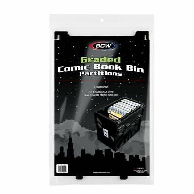 Graded Comic Book Bin Partitions, 3 Pack • 13.99£
