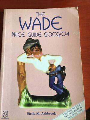 The Wade Price Guide 2003/04 Book • 1£