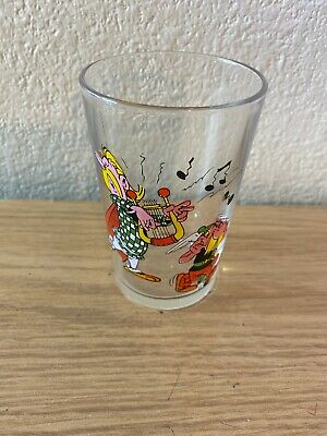 Vintage Asterix  And Oblisx Collectable Drinking Glass Paris 1968 • 14.99£