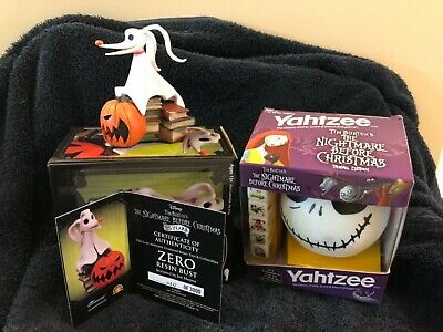 Nbx Zero Resin Bust Nightmare Before Christmas New Plus Yahtzee!! • 69.95£