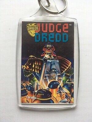 Vintage 1995 Official Judge Dredd Key Ring Release - Hand In Hall Of Justice NEW • 6.95£