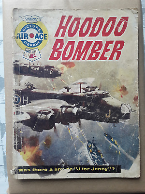 Hoodoo Bomber - Air Ace Picture Library - War Comic No 191 • 1.50£