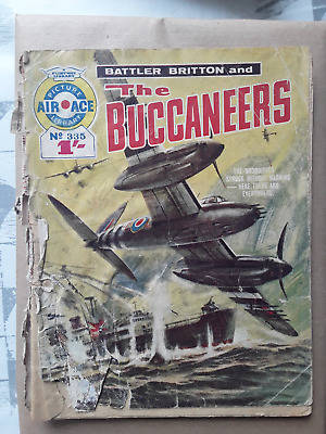 The Buccaneers - Air Ace Picture Library - War Comic No 335 • 1.50£