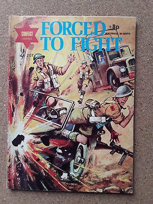 Forced To Fight - Conflict Libaries - War Comic No 207 • 1.50£