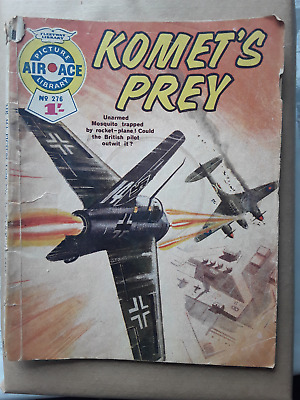 Komet's Prey - Air Ace Picture Library - War Comic No 276 • 1.50£