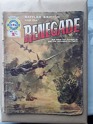 Renegade - Air Ace Picture Library - War Comic No 399 • 1.50£