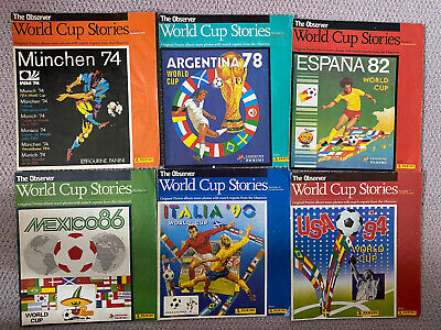 Observer World Cup Stories Collection (incomplete) • 25£