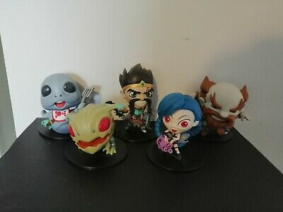 5 League Of Legends Figures Jinx, Draven & More... BOXED • 24.50£