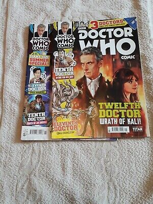 Dr Who Comics 5 And 7 Jul And Sep 15 • 4£