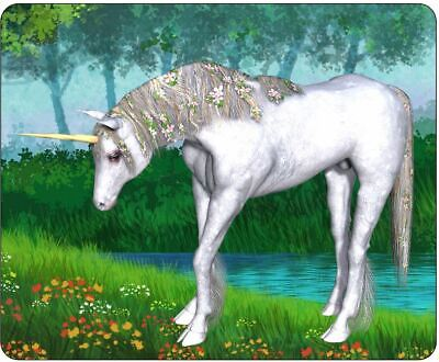 Grazing Unicorn By The River Mousepad • 7.99£